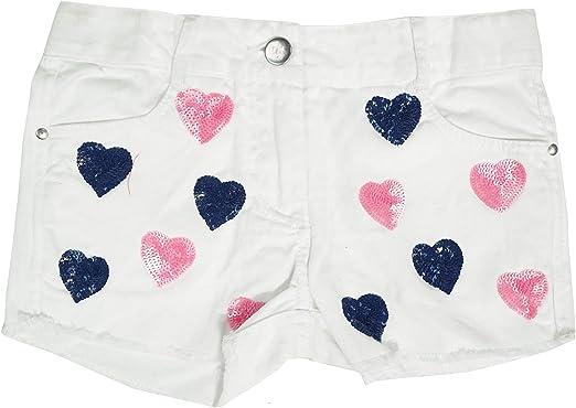 Get Wivvit Blanc Filles Short Sequin Cœurs