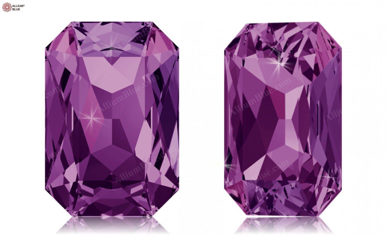 SWAROVSKI Crystals Elements Fancy Stones 4627 MM27,0X 18,5 F - Amethyst F (204)