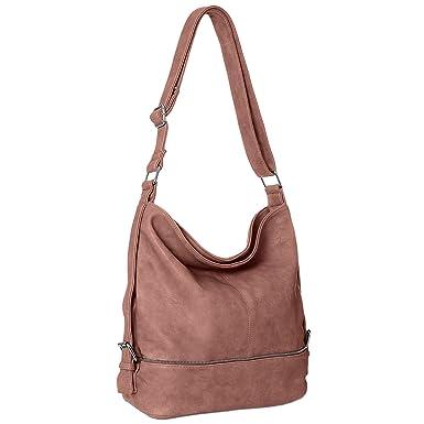 f1af1aea41ef4 CASPAR TS732 große Damen Umhänge Tasche