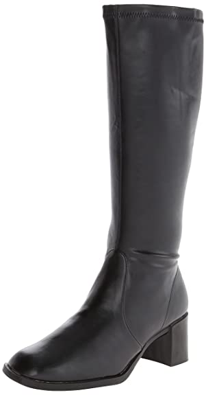 A2 by Aerosoles Women's Make Two Riding Boot,Black Stretch,10 ...
