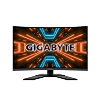 GIGABYTE G32QC 32-in 165Hz 1440P Curved Gaming Monitor Deals