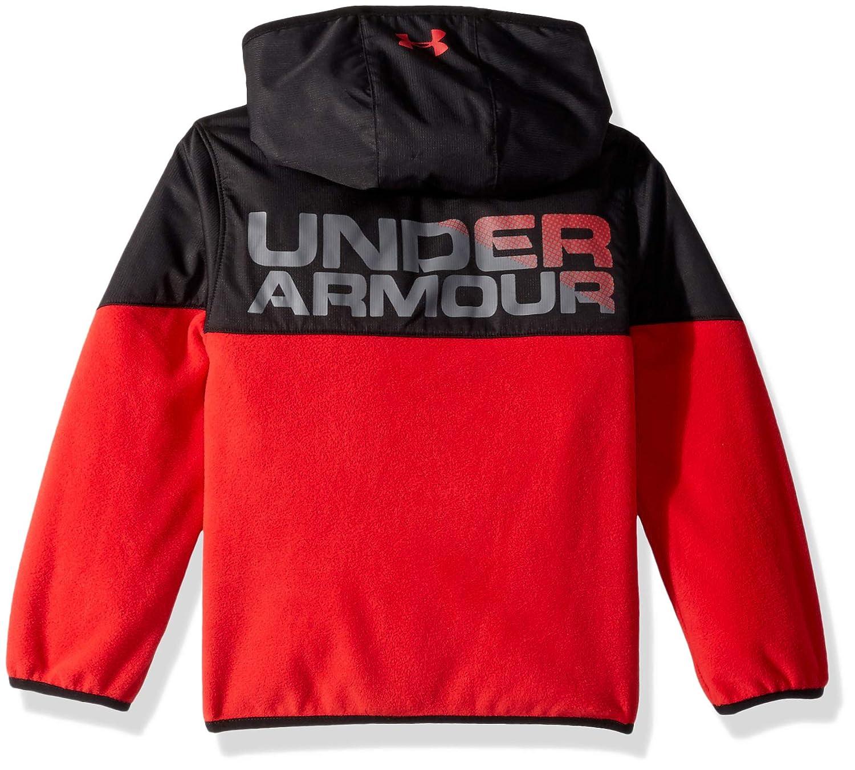 c391e206ab Under Armour Boys' Big Print North Rim Micro Fleece Hoody