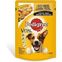Bolsita para perros adultos de pollo y verduras 100g | [Pack de 24]