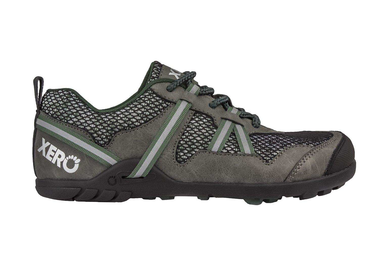 Xero Shoes TerraFlex Trail Running Hiking Shoe - Minimalist Zero-Drop Lightweight Barefoot-Inspired - Men, Forest Green, 10 D(M) US by Xero Shoes (Image #2)