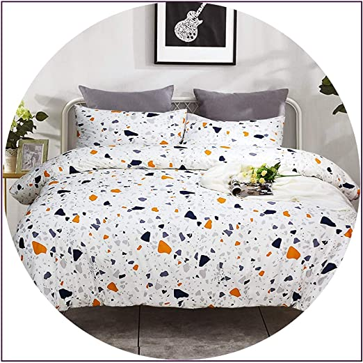 King Elegance 100/% pure Cotton Printed Duvet Cover Sets+Fitted Sheets All Sizes