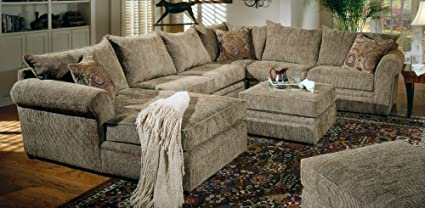 Incroyable Sectional Sofa In Sage / Chenille Fabric   Coaster