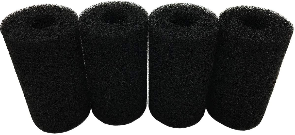 HuYaYa Pre-Filter Sponge,4 Pack Aquarium Pre Filter Foam Rolls Compatible Filter Accessories for Fish Tank