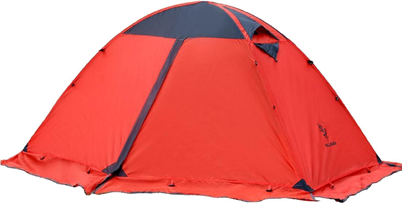 TRIWONDER Tienda de Campaña Ligera para 1-2 Personas Carpa con Doble Capa para Playa Acampar al Aire Libre