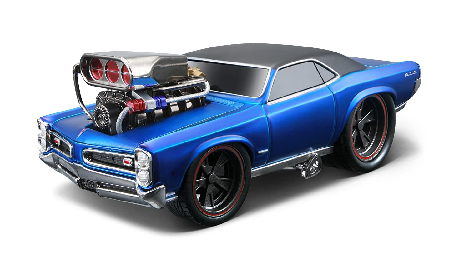 Amazon.com: MUSCLE MACHINES 1966 PONTIAC GTO: Toys & Games