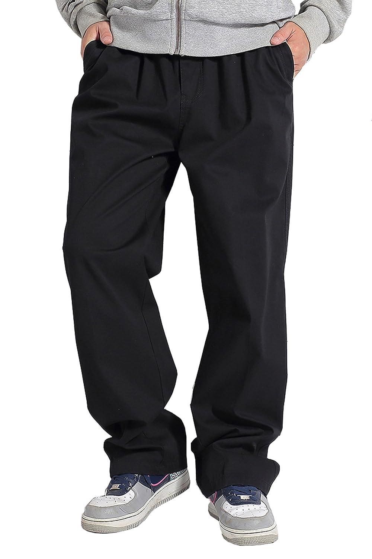 2016 New Fashion Men Plus Size Brand Cargo Pants Male Cotton Simple Chic Trousers