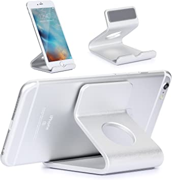 Universal Aluminio Metal Soporte Teléfono Mesa / Escritorio para ...