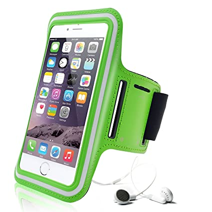 iPhone 6 Plus Armband, Aupek Slim Lightweight Sports Armband with Key Holder Scratch-Resistant