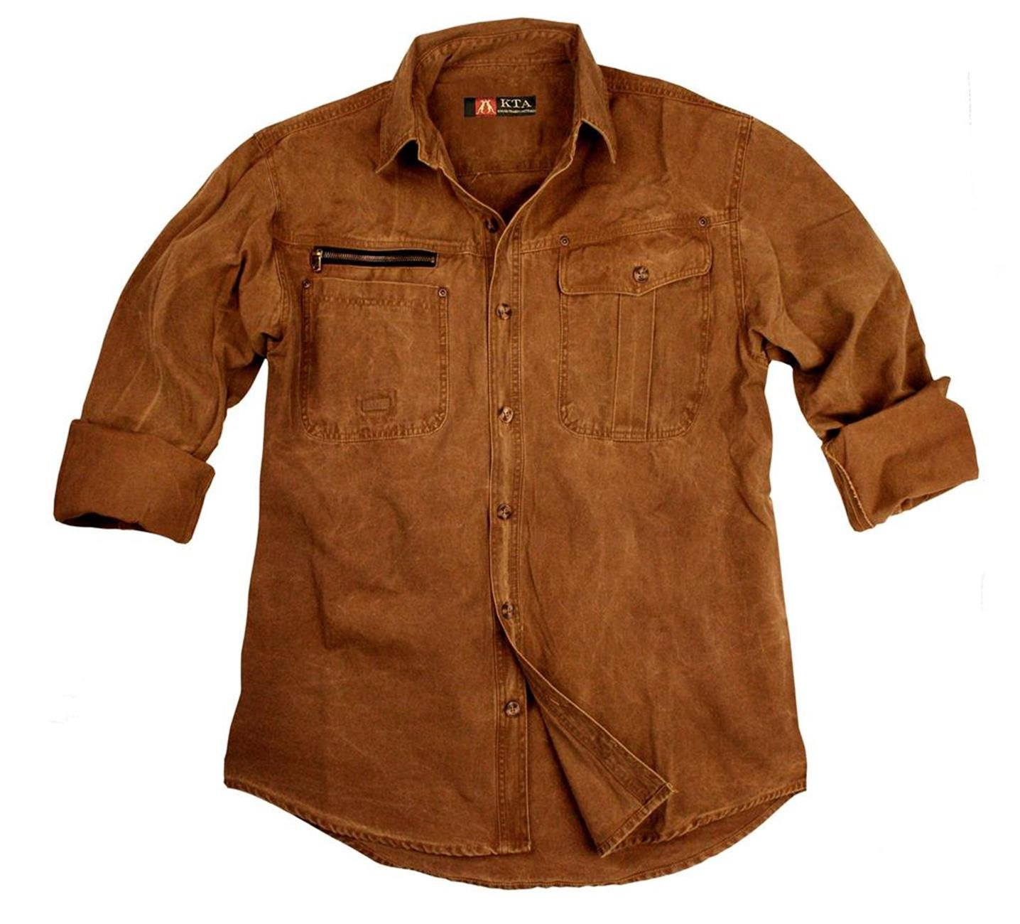 Kakadu Outdoor Traders taffes Outdoor Kakadu Herren-Hemd in verschiedenen Farben e99054