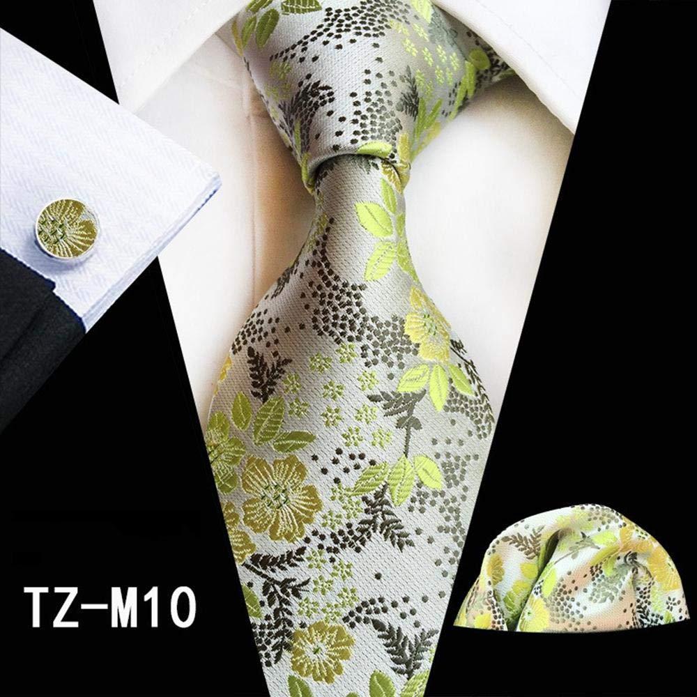 ZHAOSHUNAN Tie cravatta Corbata A Cuadros Azul Oscuro Corbata ...