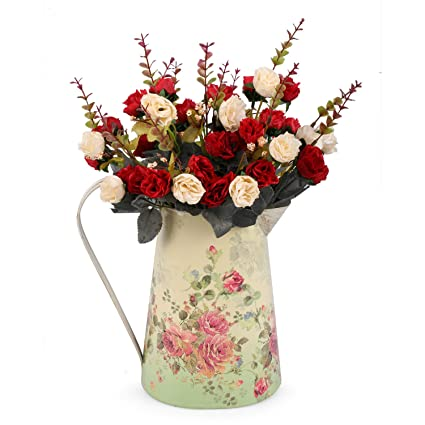 Amazon Louis Garden Artificial Flowers Large Vase Small Rose