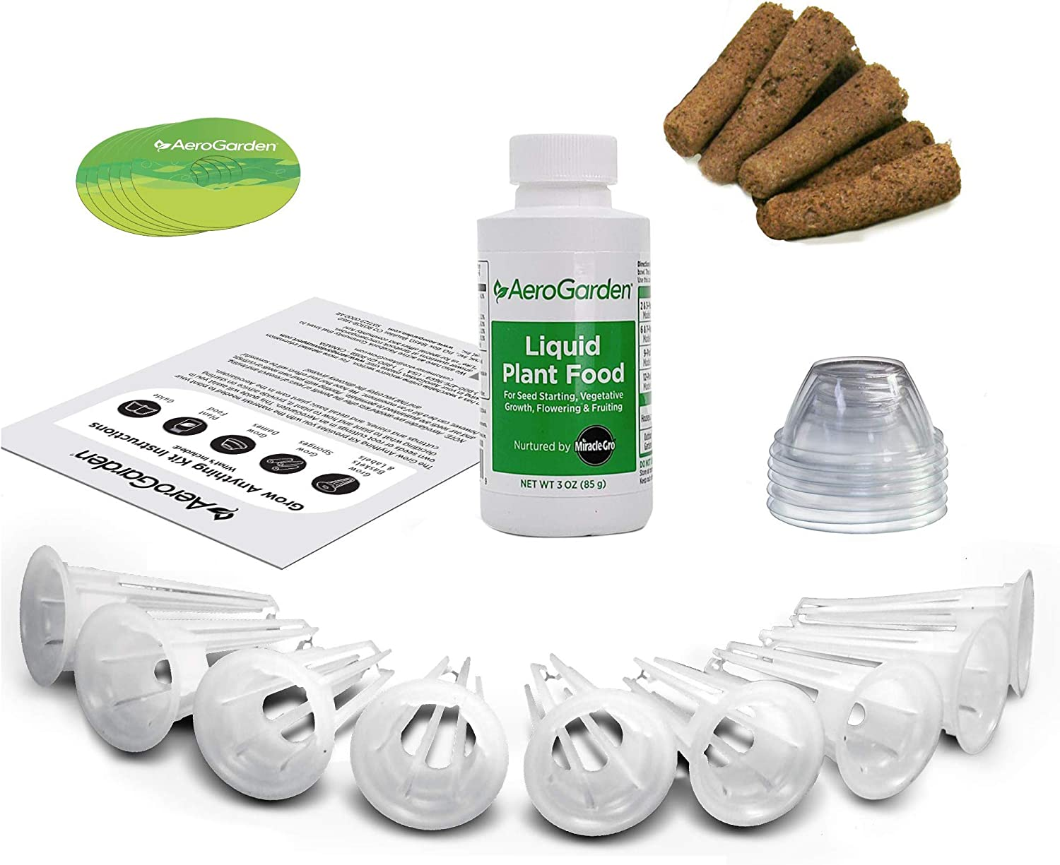 AeroGarden Grow Anything Seed Pod Kit, 25, Green