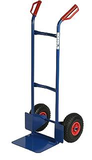 Archimede HT Wagen Doppelgriff Tragkraft kg 200, Metall, Blau, 47x 47x 120cm