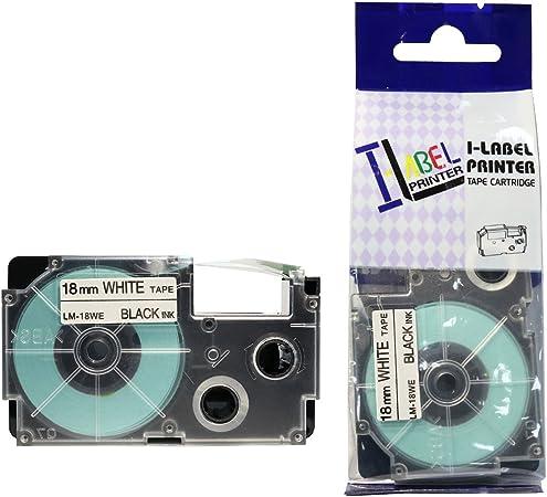 KL-130 Label Tape 18mm SCHWARZ-GELB für CASIO KL-G2