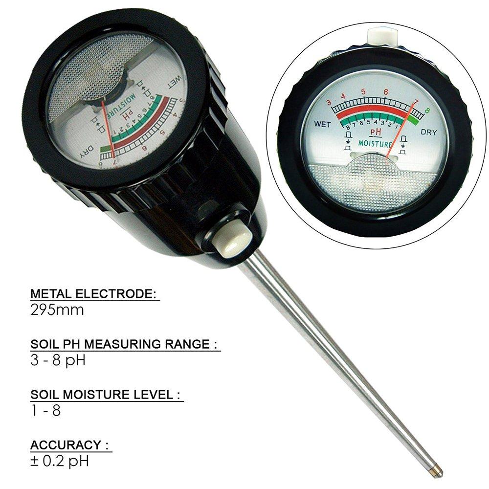 FS200-SHT20 Bodenmessgerät Feuchtigkeit Temperatur Sensor Bodentester Sonde