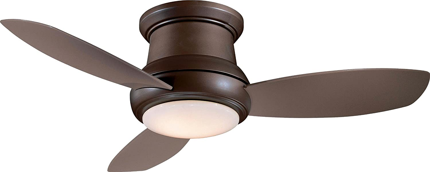MinkaAire F474ORB Concept II 52 Flush Mount Ceiling Fan with