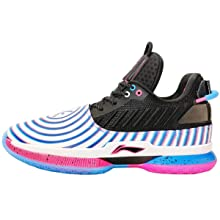 LI-NING Wow 7 'Dizzy' Wade Professional Basketball Shoes for Men Lining Classic Wearable Cushioning Sports Male Sneakers ABAN079-4 US 8.5