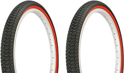"1PAIR!Duro Bicycle Bike Tires /& Tubes 20/"" x 1.75/"" All Black  Bike Tire Bmx"