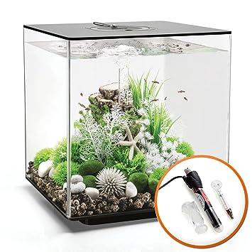 BiOrb Cube - Acuario de 60 litros con iluminación LED MCR y calefactor: Amazon.es: Productos para mascotas