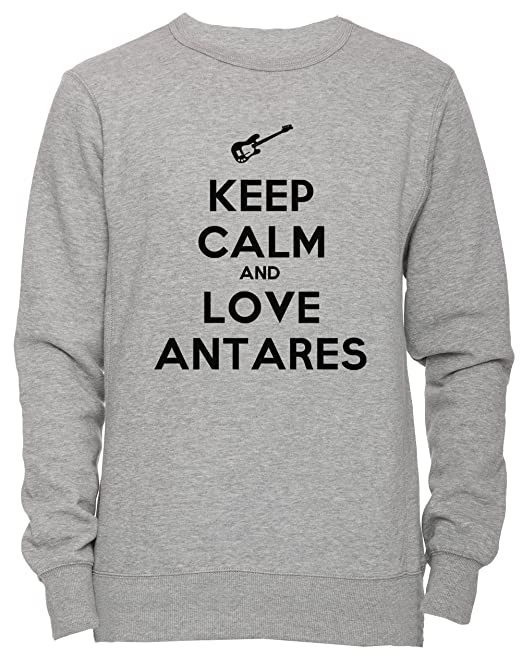 ... Love Antares Unisex Uomo Donna Felpa Maglione Pullover Grigio Tutti  Dimensioni Men s Women s Jumper Sweatshirt Grey All Sizes  Amazon.it   Abbigliamento d0288237360