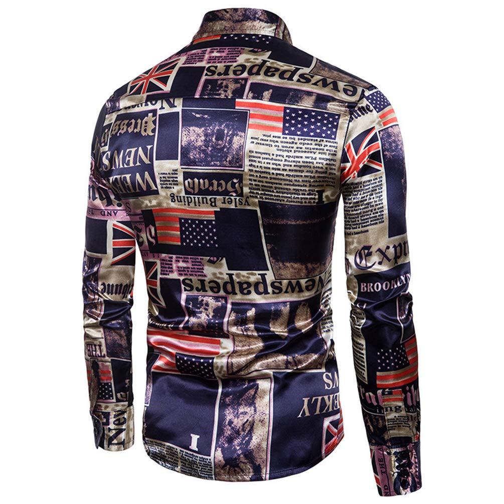 WanYangg Camisas Informales Hombre 1b977f351ad43