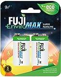 Fuji EnviroMAX Super Alkaline 9 Volt Eco Friendly