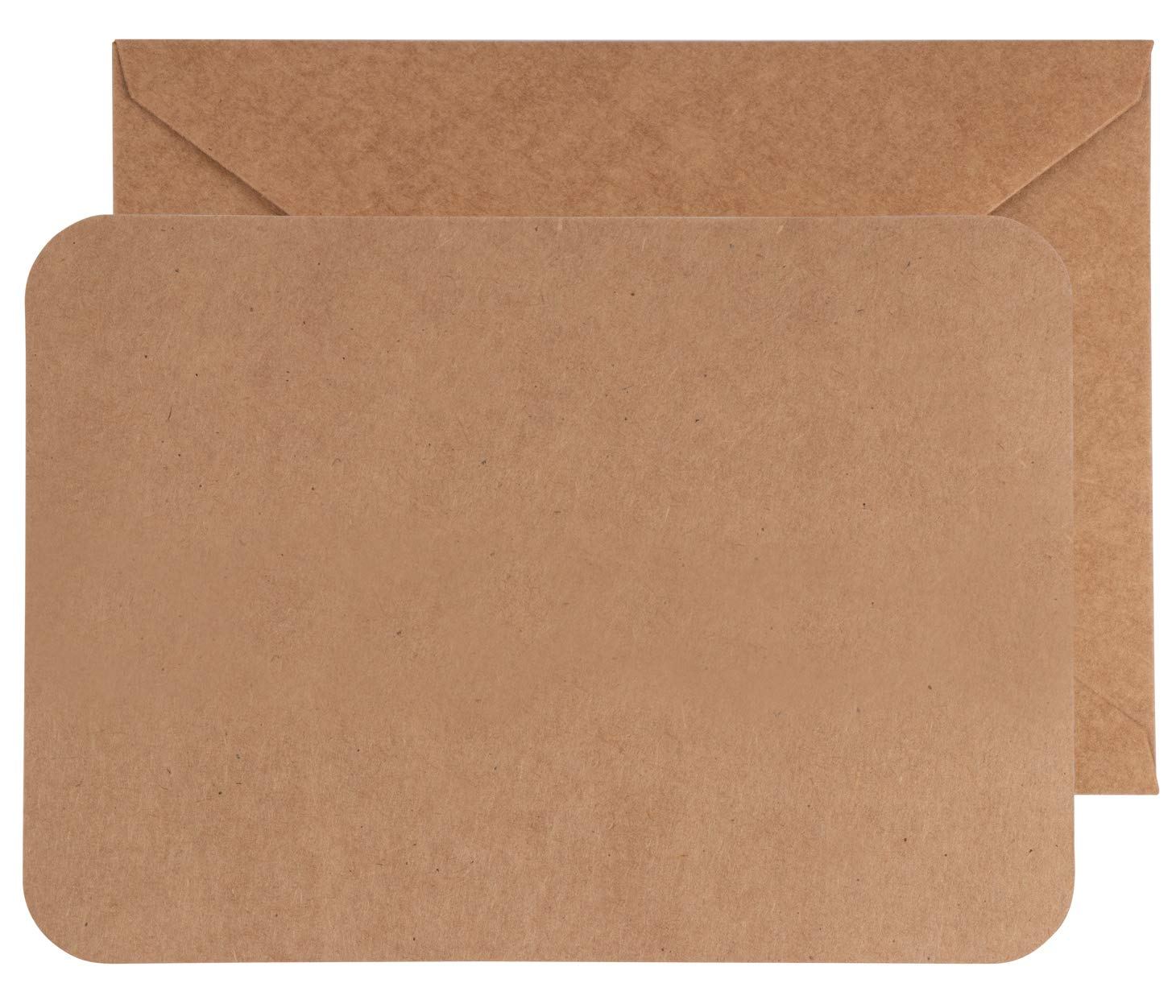 Blank Kraft Greeting Cards with Envelopes (5 x 7 Inches, 48-Pack)