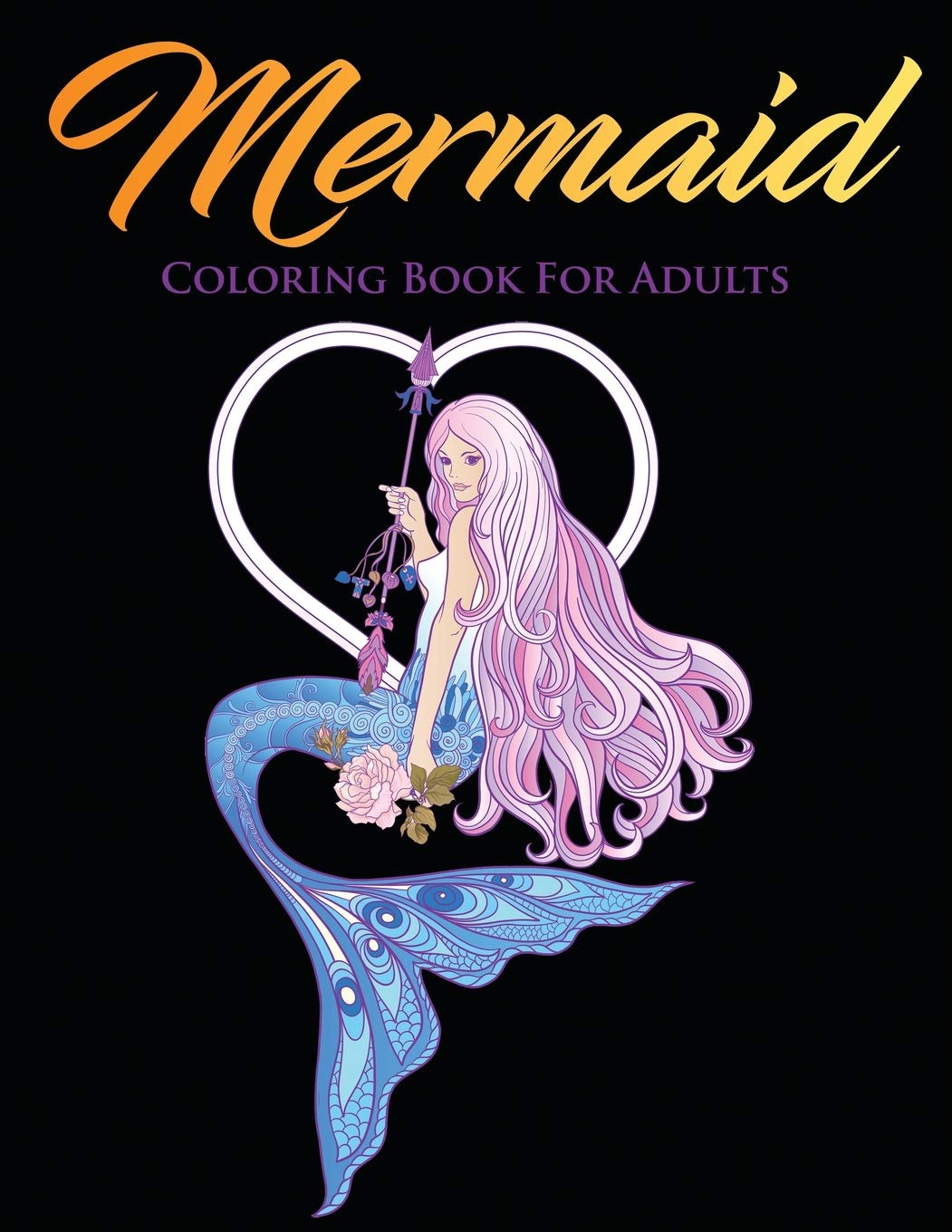 Mermaid Coloring Book for Adults Beautiful Stress Relieving ...