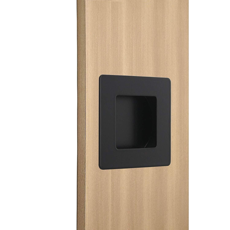 Sliding Closet Door Handle Black Flush Handle 10 Pack Homdiy Mc009