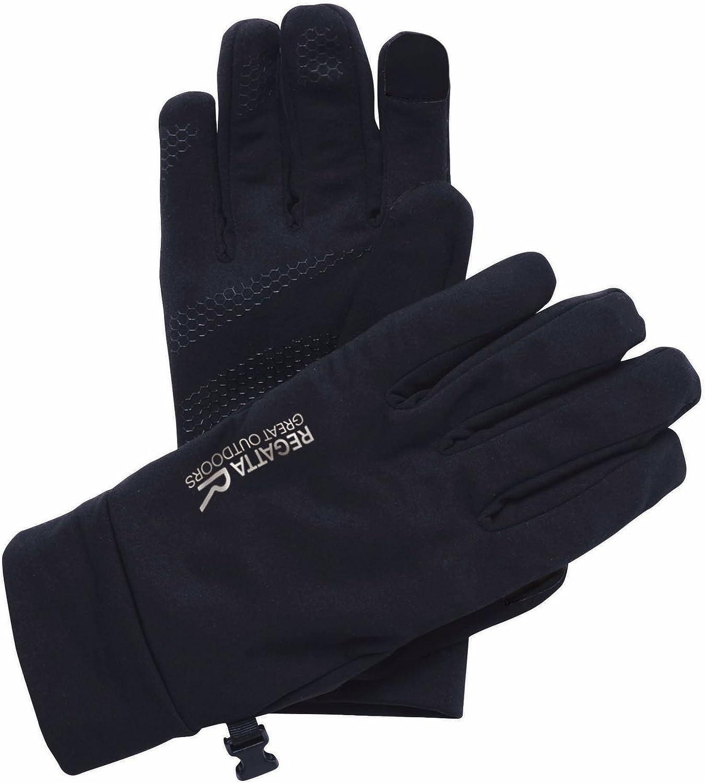 Regatta Herren Touchtip Stretch Silicon Grip Palms Softshell Gloves Handschuhe