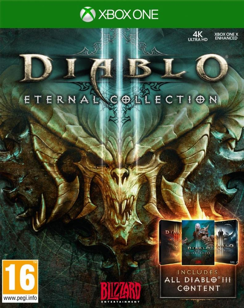 Diablo III: Eternal Collection [Importación francesa]: Amazon.es: Videojuegos