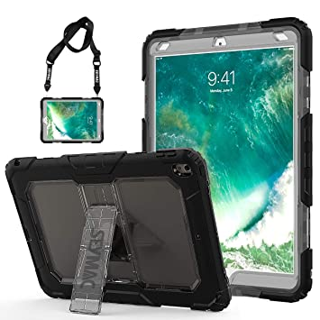 iPad Pro 10,5 Caso, saymac Tres Capa Resistente Suave ...