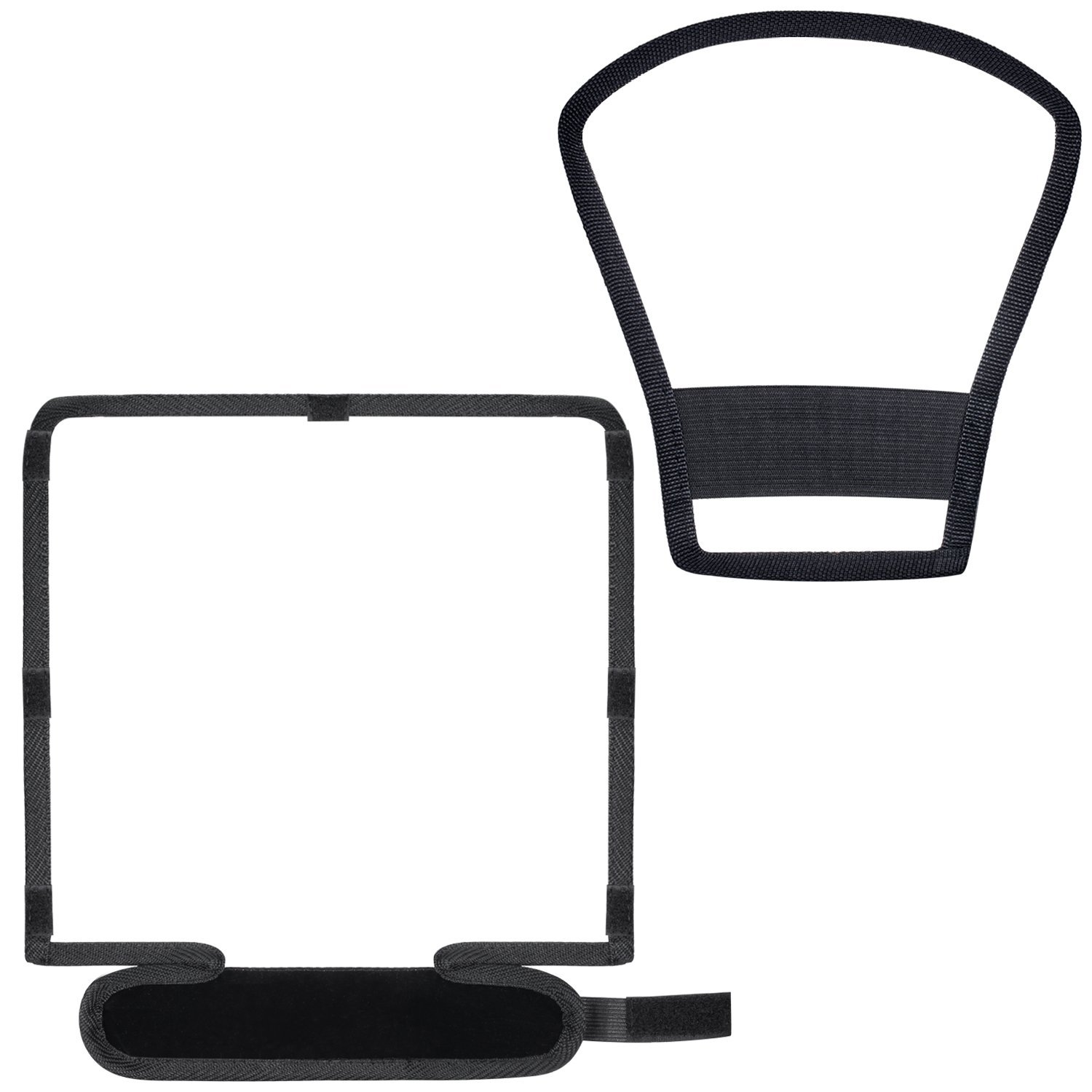 10x9x8inches Bendable White Reflector and 7x8x4 inches Silver//White Two-Side Reflector Neewer 2 Pieces Camera Speedlite Flash Softbox Diffuser Kit Universal Mount for Nikon Canon Sony