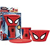 Stacking Meal Set - Spiderman