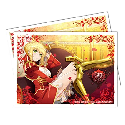 Fate Extra - Nero Standard Deck Protector Card Sleeves (65 ct.): Toys & Games