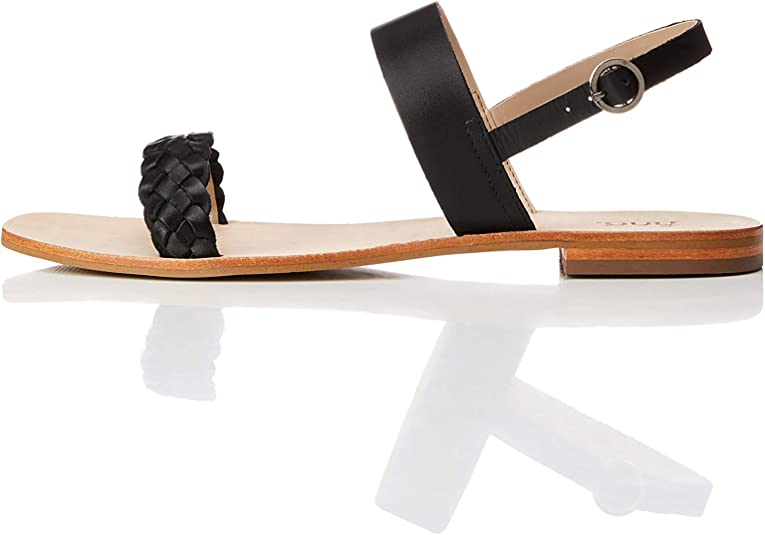 Two Band Slingback Leather
