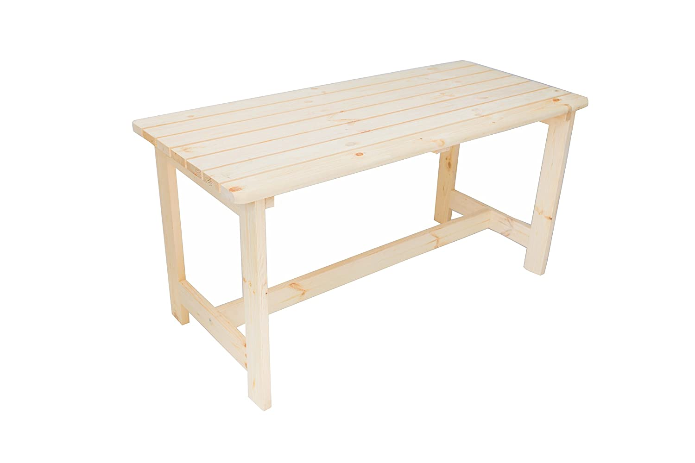 Kiefer Gartentisch Holztisch Kieferntisch Gartenmöbel Tisch BERGEN 65x150cm