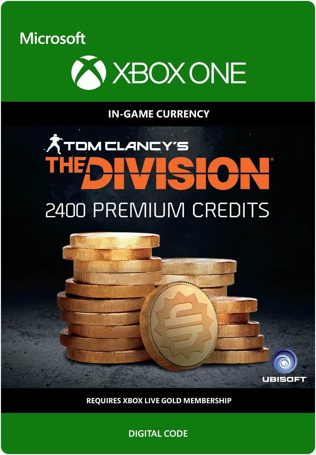 Amazon com: Tom Clancy's The Division: Currency pack 2400 Premium