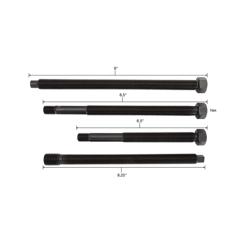 OEMTOOLS 24442 Long Reach Harmonic Balancer//Pulley Installer