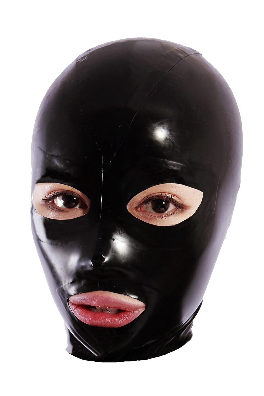 Queenshiny Kopfmaske Maske (Schwarz-1)