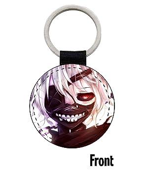 MasTazas Tokyo Ghoul Kaneki Ken Llavero Keyring: Amazon.es ...