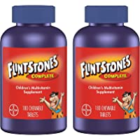 Flintstones Chewable Kids Vitamins, Complete Multivitamin for Kids and Toddlers with Iron, Calcium, Vitamin C, Vitamin D…