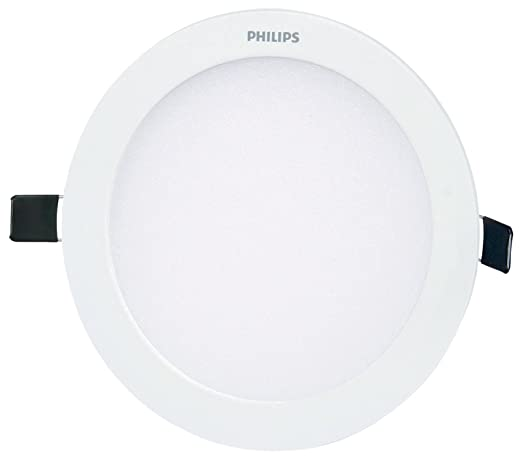 size 40 08ff9 32c0e Philips Ultra Slim Plus 15-Watt Recessed LED Panel (Cool Day Light, Round)
