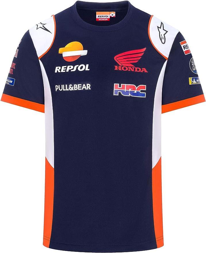 REPSOL Camiseta Oficial de MotoGP Teamwear Replica: Amazon.es ...