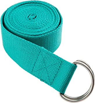 Sporti Studio Yoga Strap D-Ring