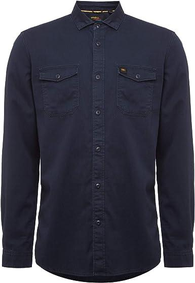 ONEILL LM Creek Twill Shirt - Camisa Twill para Hombre Hombre ...